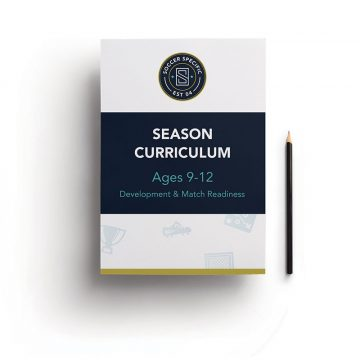 Season Curriculum for Soccer Coaches for Ages 9-12 | SoccerSpecific